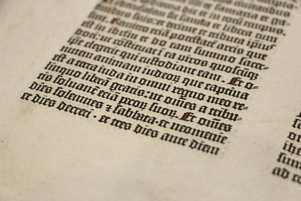 Deutsche Nationalbibliothek Leipzig Gutenbergbibel