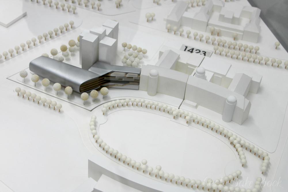 Deutsche Nationalbibliothek Leipzig Modell aktuell