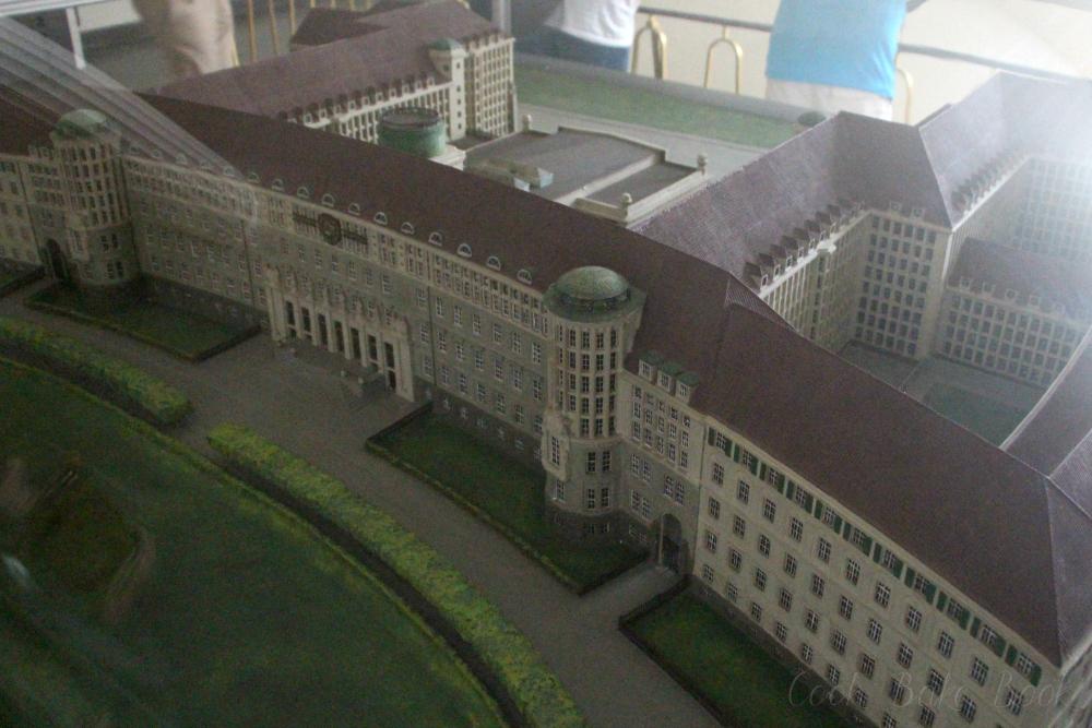 Deutsche Nationalbibliothek Leipzig Modell alt