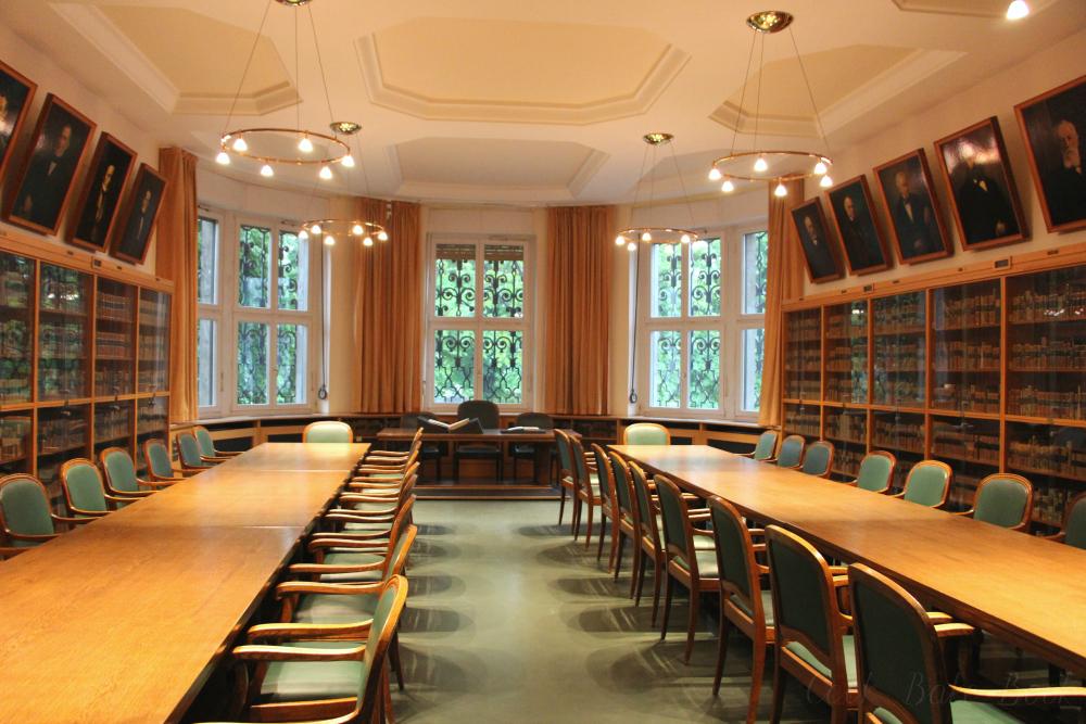 Deutsche Nationalbibliothek Leipzig Stiftersaal