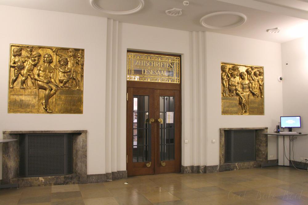 Deutsche Nationalbibliothek Leipzig Zeitschriften Lesesaal