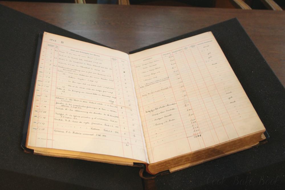 Deutsche Nationalbibliothek Leipzig erster Katalog