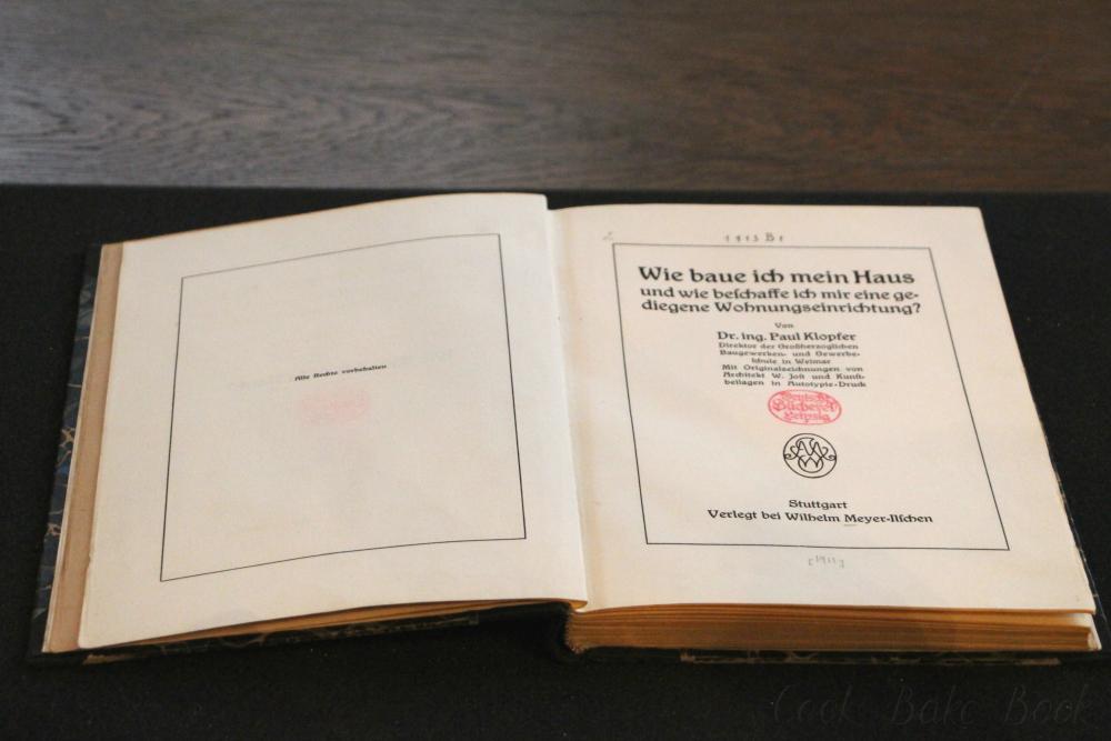 Deutsche Nationalbibliothek Leipzig erstes Buch