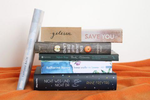 Gelesene Bücher Mai und Juni
