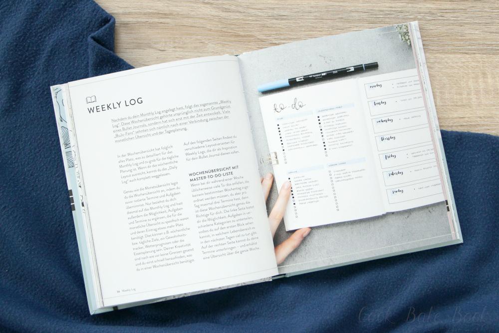 Journalspiration - Bullet-Journal-Guide von Marietheres Viehler, Innenansicht