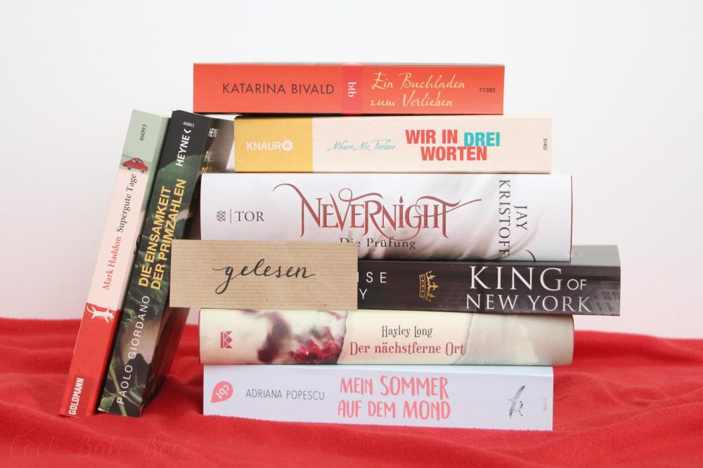 Gelesene Bücher Juli und August