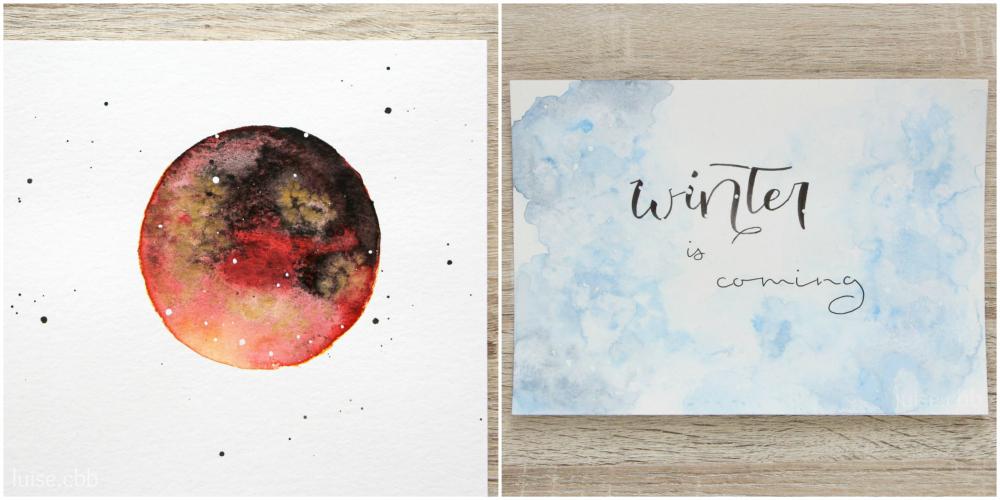 Kreatives Juli und August