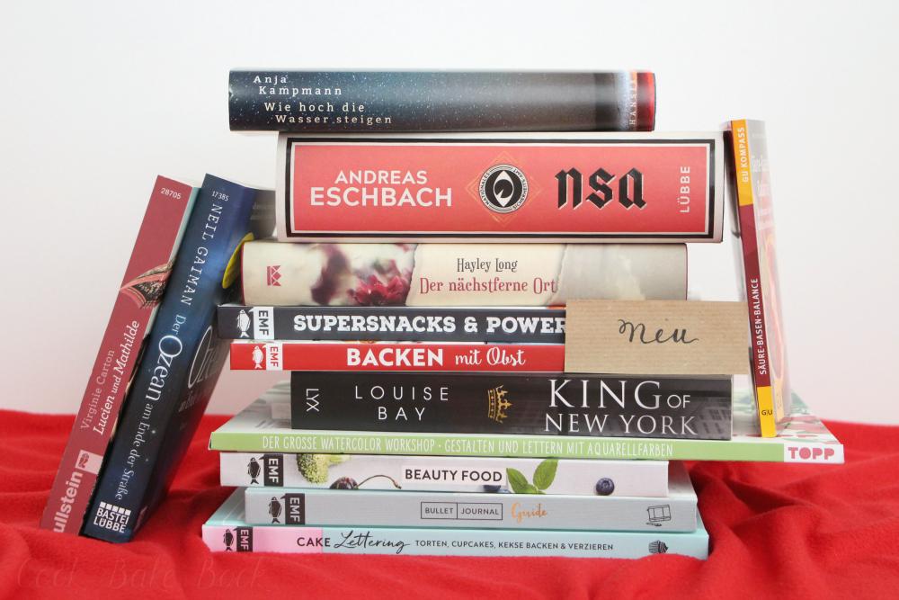 Neue Bücher Juli und August