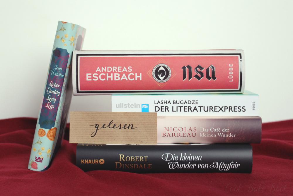 Gelesene Bücher September und Oktober