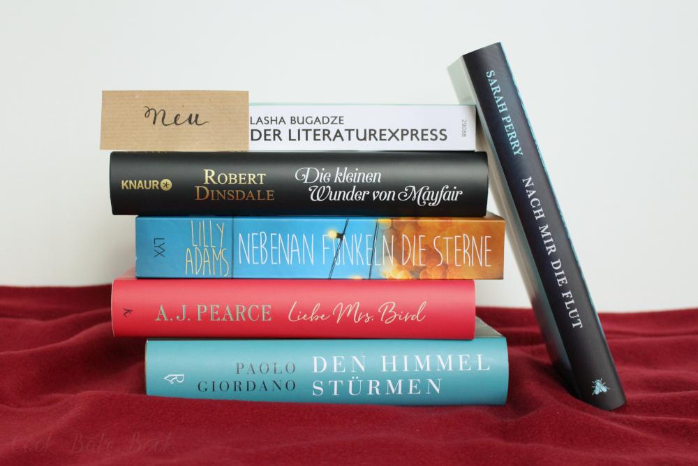 Neue Bücher September und Oktober