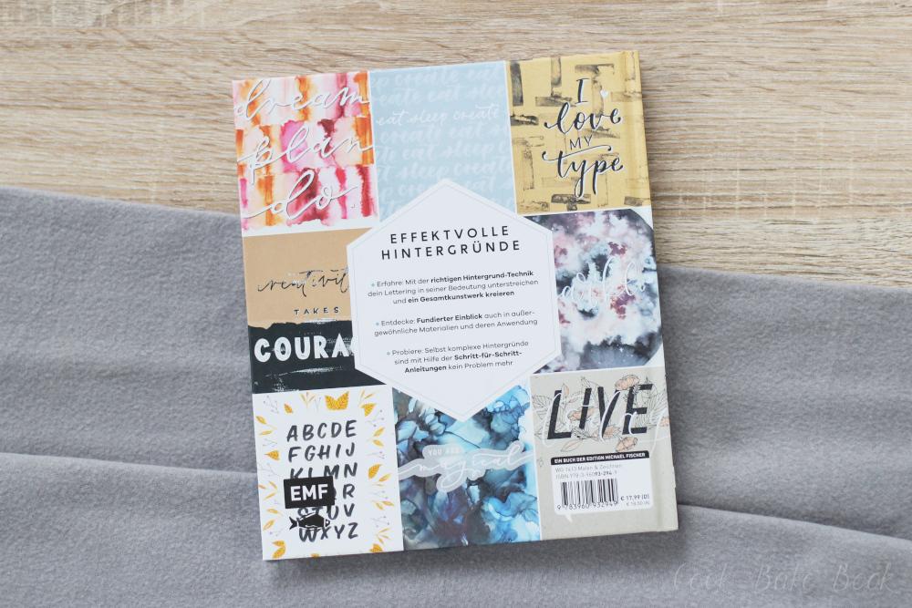 Handlettering Backgrounds von Sabina Wieners Rückseite